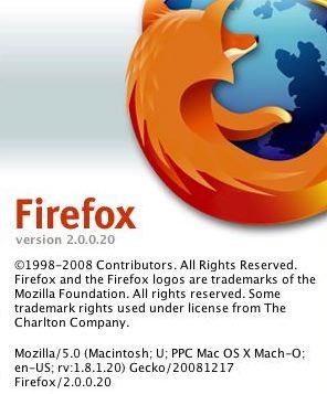 Firefox 2.0.0.20 - 2008