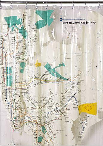 Ny Subway Map Shower Curtain.Bookofjoe Nyc Subway Map Shower Curtain