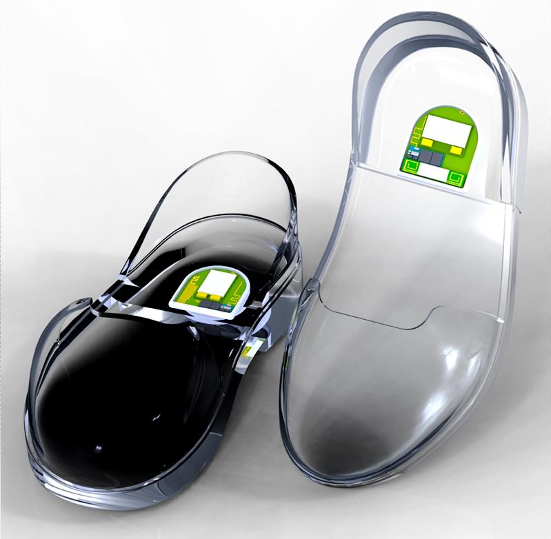 Gps-shoe