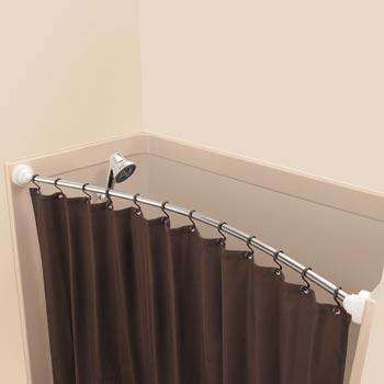 bookofjoe: Rotating Curved Shower Rod