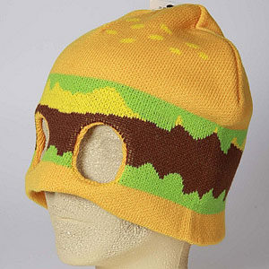 bookofjoe  Hamburger Mask Hat d2b95e0d6048