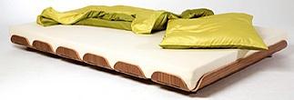 6 Parçalı yatak bazası.