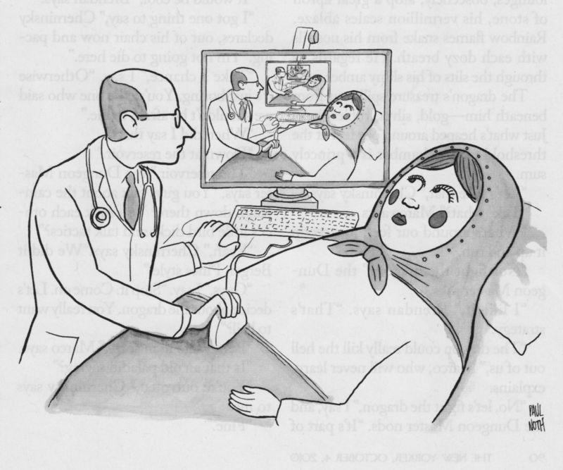 Russian doll cartoon