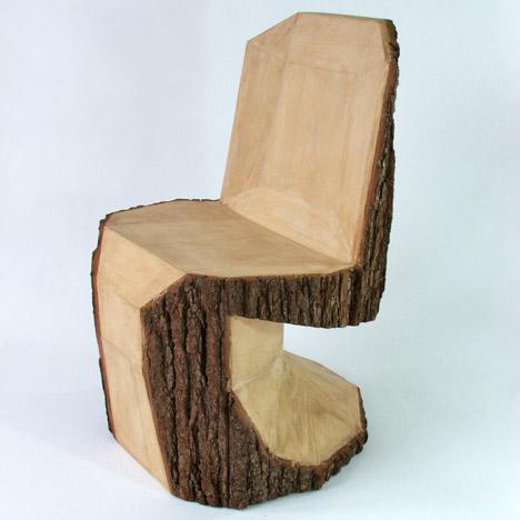 bookofjoe chain saw panton chair