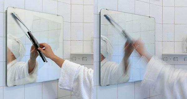 Wiper-mirror