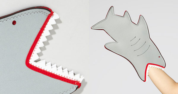 SHARK-bite-oven-mitt