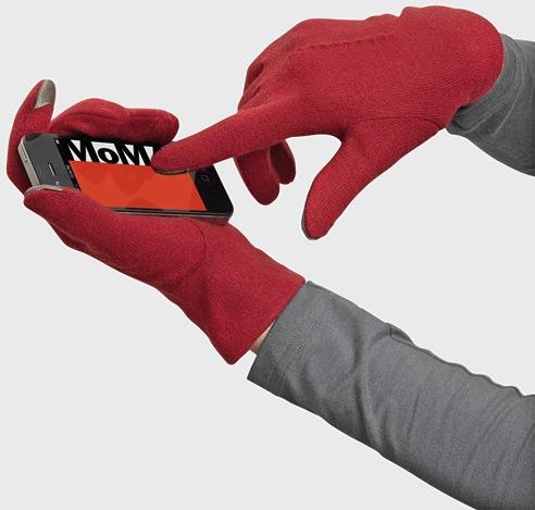 91491_C2_Gloves_Echo_Touch_Red_Wool_Medium