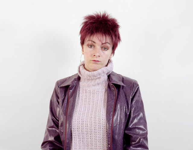 Short-purple-hair