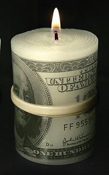 Moneycandle