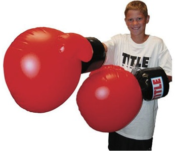 Giant-inflatable-boxing-gloves