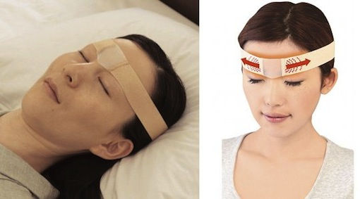 Oyasumi-good-night-stretcher-brow-wrinkle-band-1