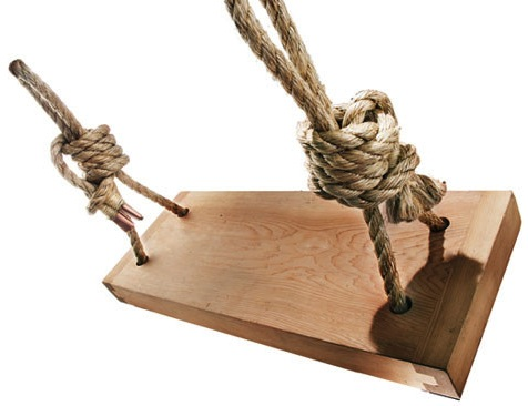 bookofjoe: Cedar Rope Swing