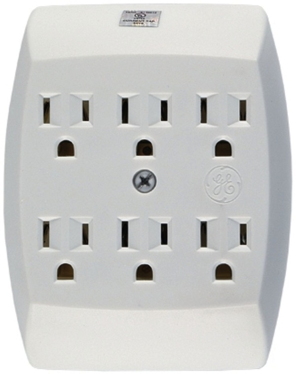 bookofjoe: Wall socket multiplier makes a perfect house gift