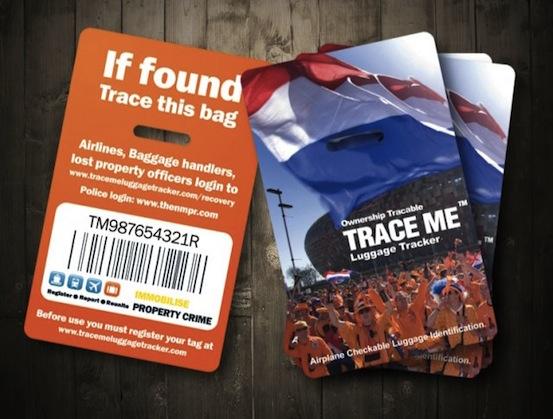 Bookofjoe Trace Me Luggage Tracker Tag