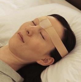 Oyasumi-good-night-stretcher-brow-wrinkle-band-1