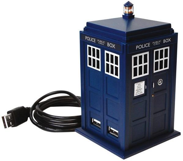 Hub-usb-doctor-who-tardis