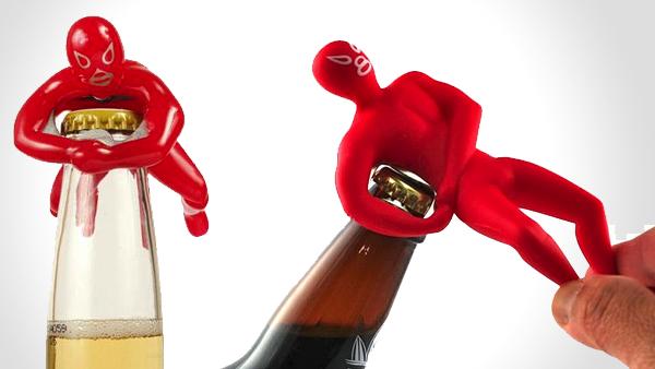Bookofjoe luchador wrestler bottle opener wrestle your beer into submission - Wrestler bottle opener ...