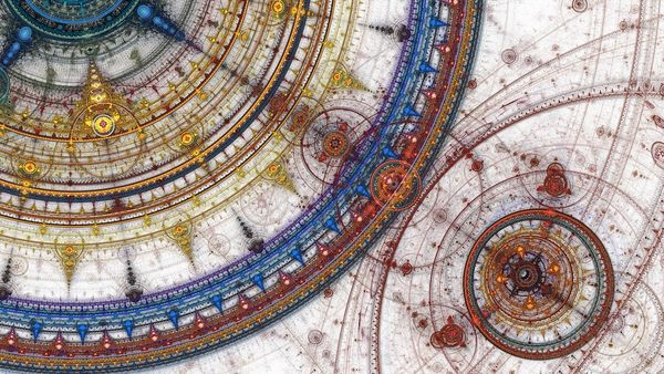Abstract-fractal-gears