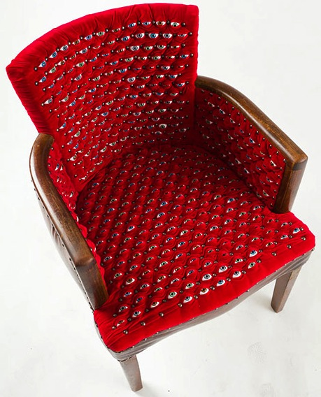 Scopophilia-a-chair-covered-in-hundreds-of