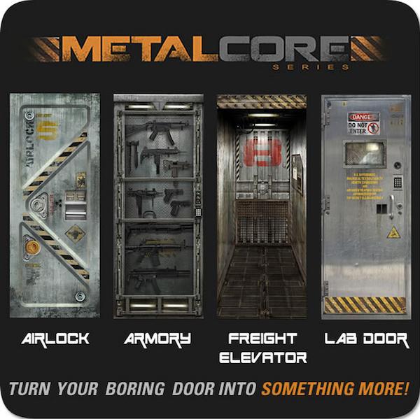 Bookofjoe Metal Core Door Sticker Decals Quot Transform