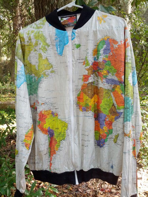 Bookofjoe tyvek world map poncho img20131105113031 gumiabroncs Gallery