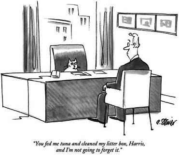 Peter-steiner-you-fed-me-tuna-and-cleaned-my-litter-box-harris-and-i-m-not-going-to-f-new-yorker-cartoon
