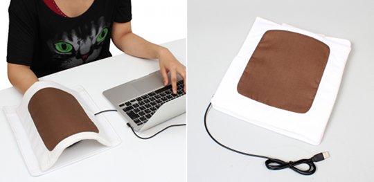 Thanko-usb-futon-heated-mouse-pad-2