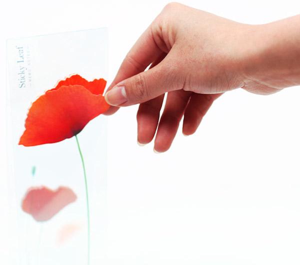 Appree-poppy-leaf-sticky-note-designboom-shop09