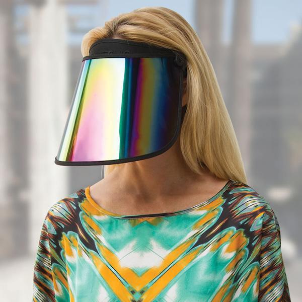 Paparazzi-thwarting-reflective-visor-xl