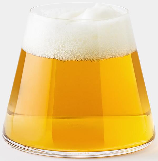Fujiyama-beer-glass