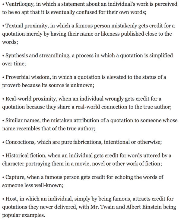 bookofjoe 10 common mechanisms that lead to misquotation and