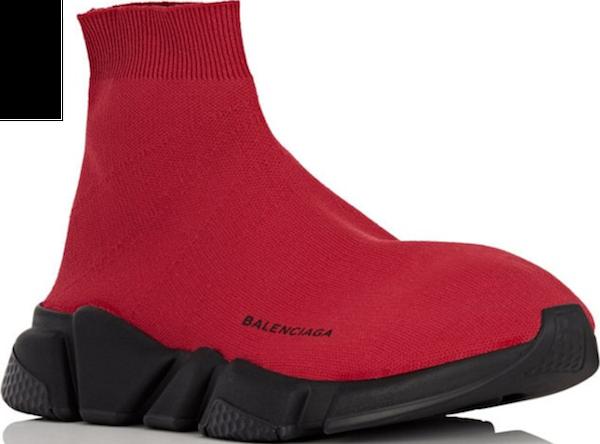 55f23d43222 bookofjoe  Balenciaga Men s Speed Knit Sneakers
