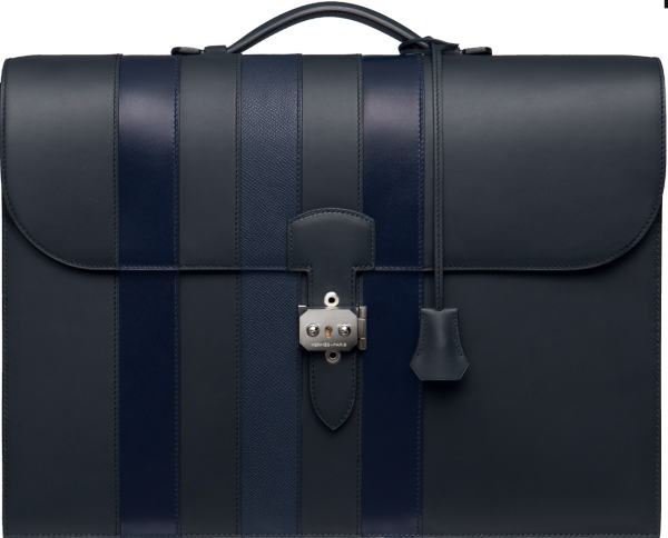 Sac a Depeches briefcase from Hermès made from the original batch of hides recovered from the shipwreck
