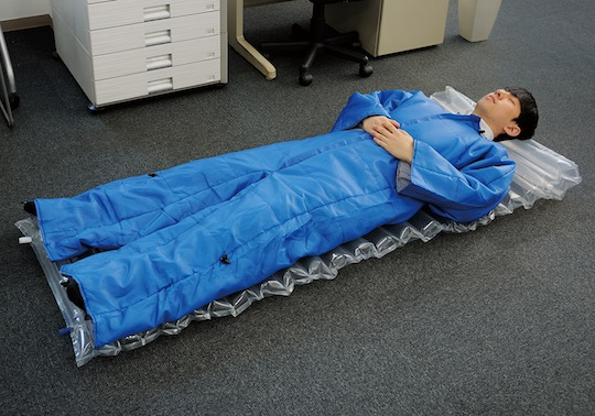 king jim wearable futon air mat set sleeping gear coat bed for office bed for office