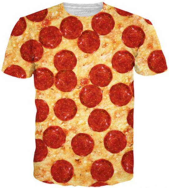 Kathryn's Pizza Shirt