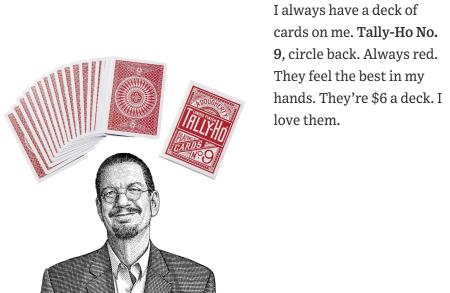 Penn jillette experts' expert-cards