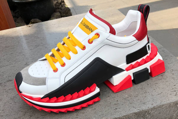 Bookofjoe Dolce And Gabbana Quot Super King Quot Sneaker