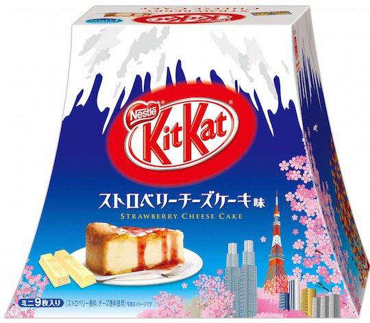 Kitkat-mini-strawberry-cheesecake-japan-mount-fuji