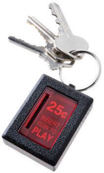 Insert-coin-key-chain