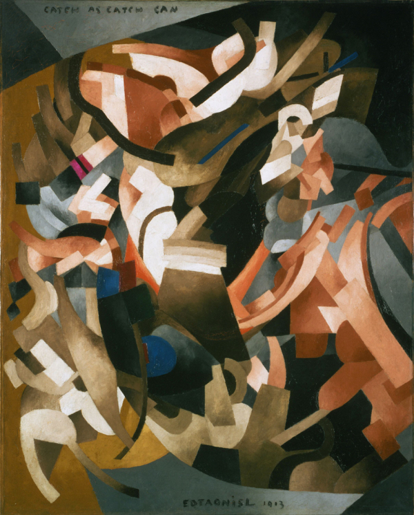 Francis_Picabia _1913 _Catch_as_Catch_Can _oil_on_canvas _100.6_x_81.6_cm _Philadelphia_Museum_of_Art