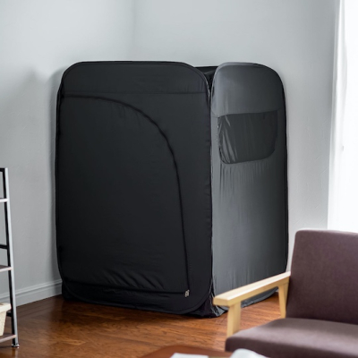 Sanwa-home-privacy-tent-booth-teleworking-gaming-indoor-1