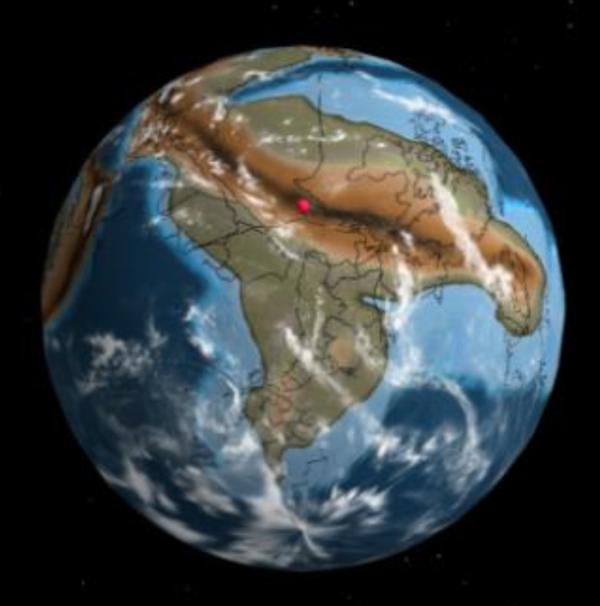 Nyc 750 million years ago