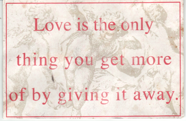 Love copy
