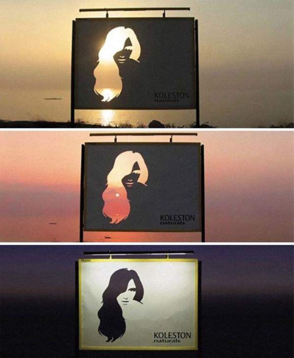 Hair billboard copy