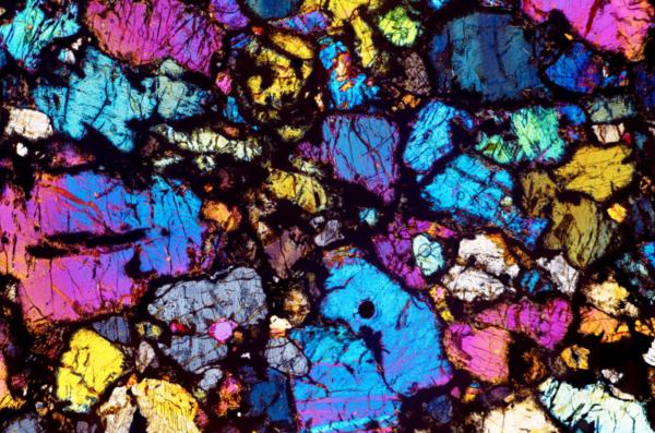 Meteorite cross-section