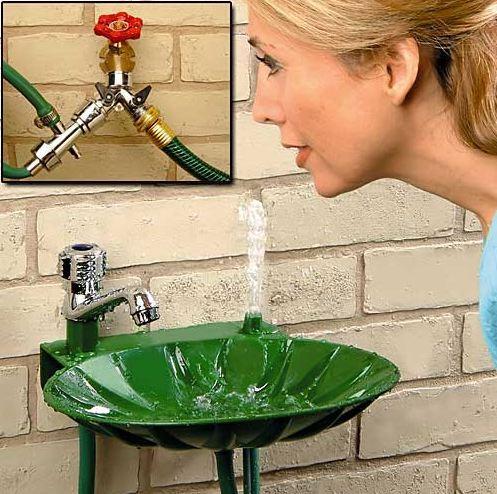 Backyard Drinking Fountain - Bookofjoe: Backyard Drinking Fountain
