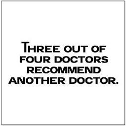 Threeoutoffourdoctors