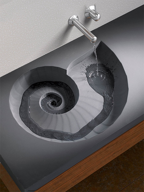 Hightechwashbasinammonite