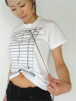 bookofjoe: Feeling Hot? Venetian Blind T-Shirt