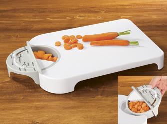 bookofjoe adjustameasure cutting board, Kitchen design
